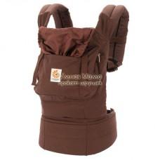 Эргономичный рюкзак-кенгуру Ergo Baby коричневый