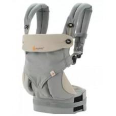 Эргономичный рюкзак Four Position 360, Ergo Baby серый