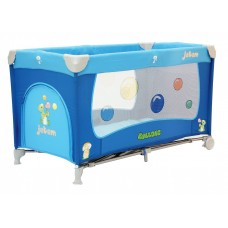 Складной манеж-кровать Jetem C3 голубой