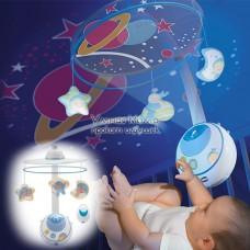 """Мобиль с проектором """"Волшебные звезды"""", Chicco"""