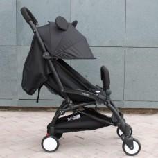 Компактная коляска YOYA 175 черная