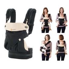 Эргономичный рюкзак Four Position 360, Ergo Baby черный